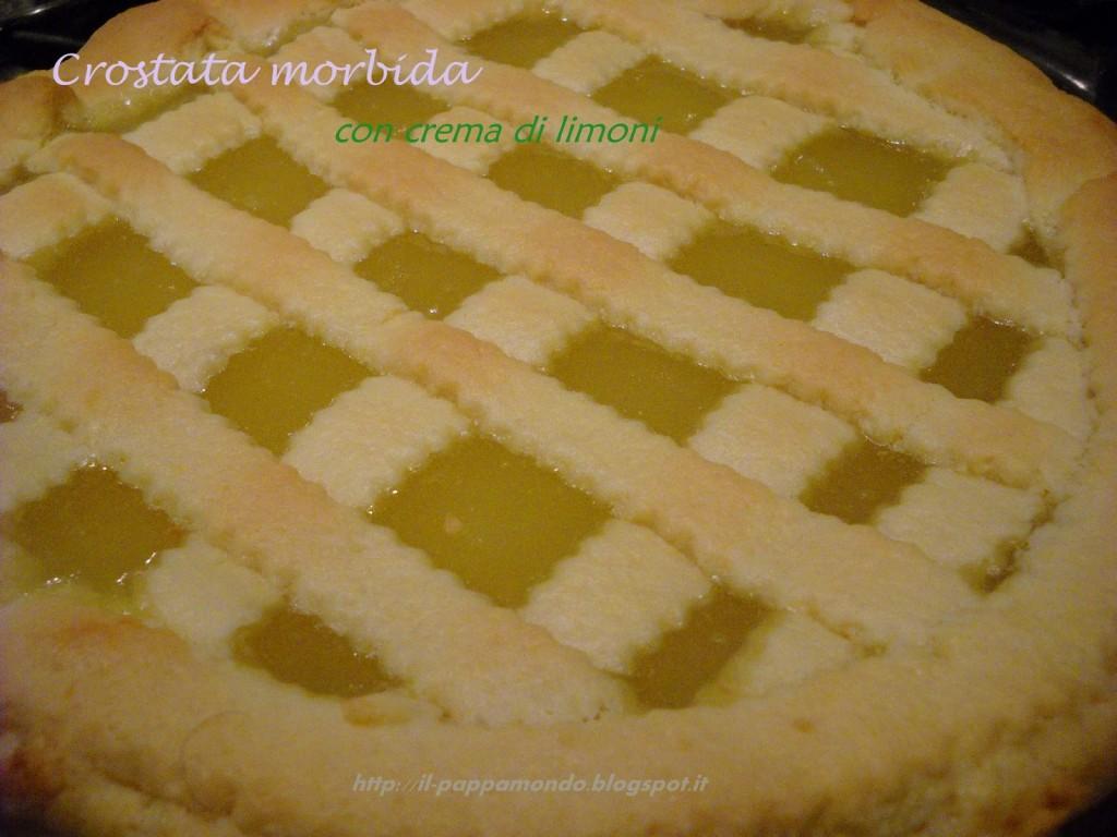 Crostata Morbida Con Crema Di Limonisenza Burro Il Pappamondo
