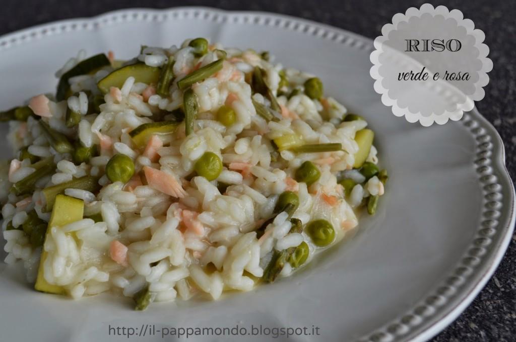 Risotto Asparagi Zucchine.Risotto Con Zucchine Asparagi E Salmone Il Pappamondo